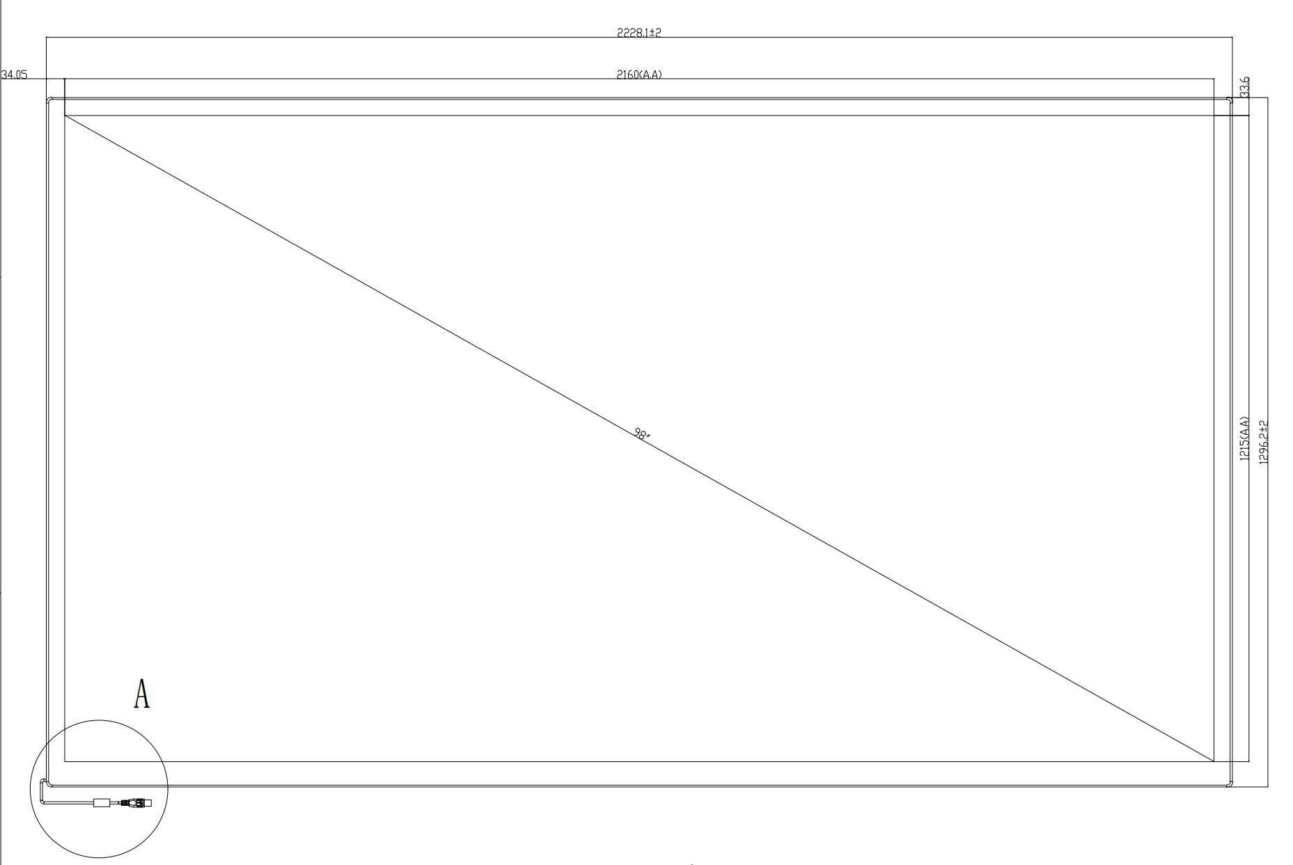 Báo giá màn hình cảm ứng PQ Labs 98 inch siêu mịn, siêu mượt