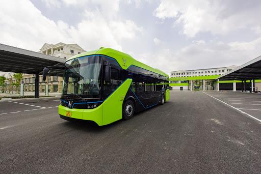 xe Vinbus trang bị hệ thống kiểm soát hành vi tài xế